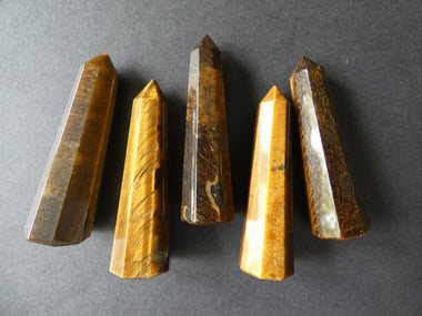 Natural Tiger Eye Obelisk