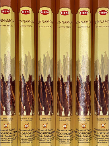 Cinnamon Incense 20 Sticks