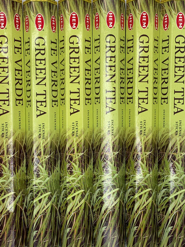 Green Tea Incense 20 Sticks