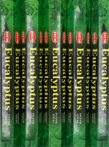 Eucalyptus Incense 20 Sticks