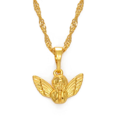 AI x DC Collection | Angel Charm Necklace