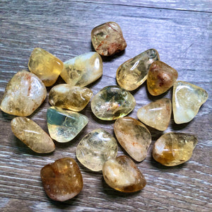 Citrine Tumbled Gemstone