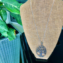 "Load image into Gallery viewer, Sterling Silver 18"" Tree Of Life Necklace"