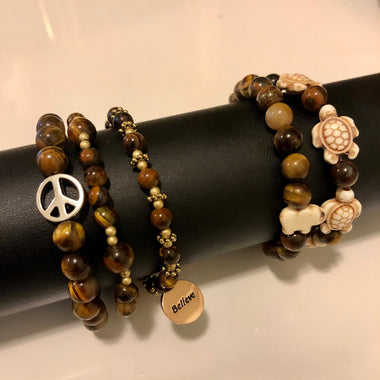 Tiger's Eye Bracelet (1 of each)