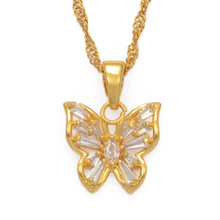 Load image into Gallery viewer, AI x DC Collection | Butterfly Charm Necklace