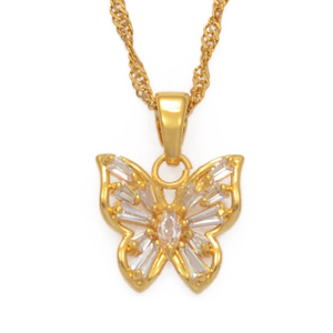 AI x DC Collection | Butterfly Charm Necklace