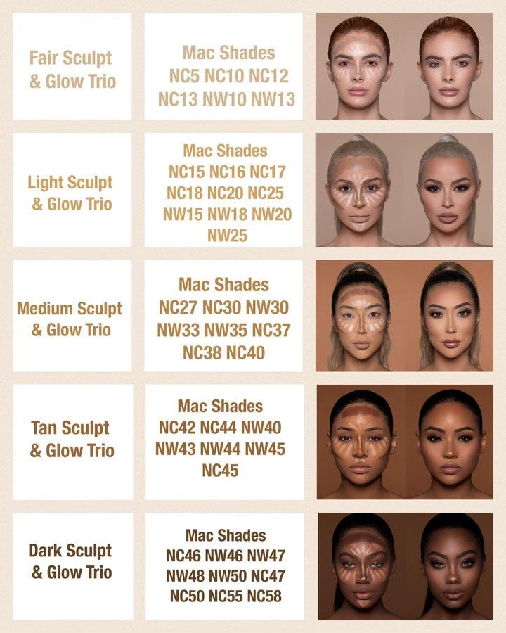 Light Contour Palette