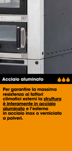 Forno Arcos Comfort Air mcz 100
