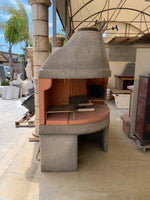 Camino-forno-barbecue 3in1