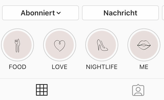 Was sind Story Highlights?
