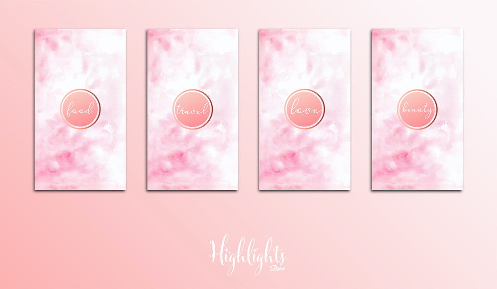 Rosé Highlight Cover Paket kaufen | Designs ab 3,49€