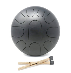 D Super Pygmy 10-Note Manastone Steel Tongue Drum