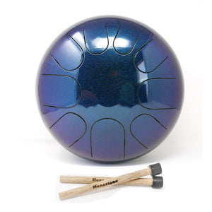 9-Note Peace Scales - Manastone Steel Tongue Drums