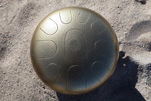 D Super Pygmy Manastone Steel Tongue Drum - ManaStone Drums