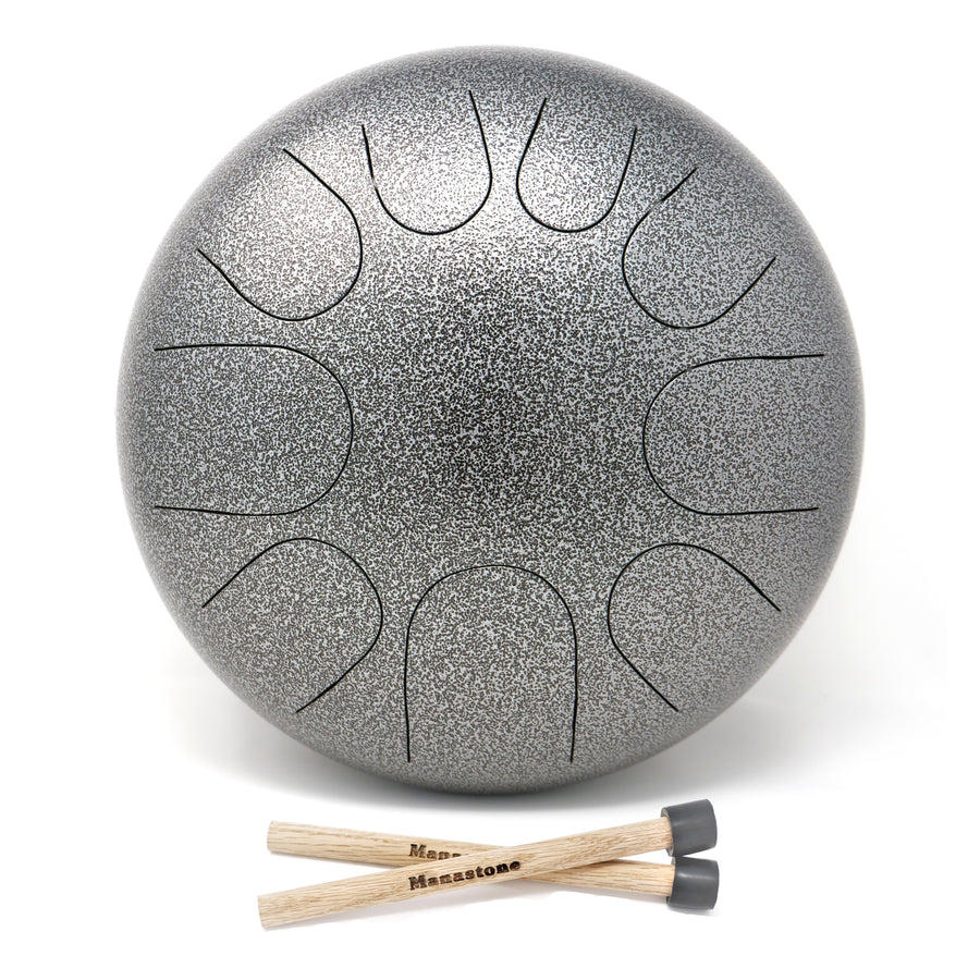 E-Flat Hijaz & F Big Bear Double-Sided Manastone Steel Tongue Drum