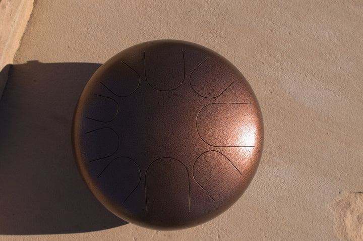 F Big Bear Manastone Steel Tongue Drum - ManaStone Drums