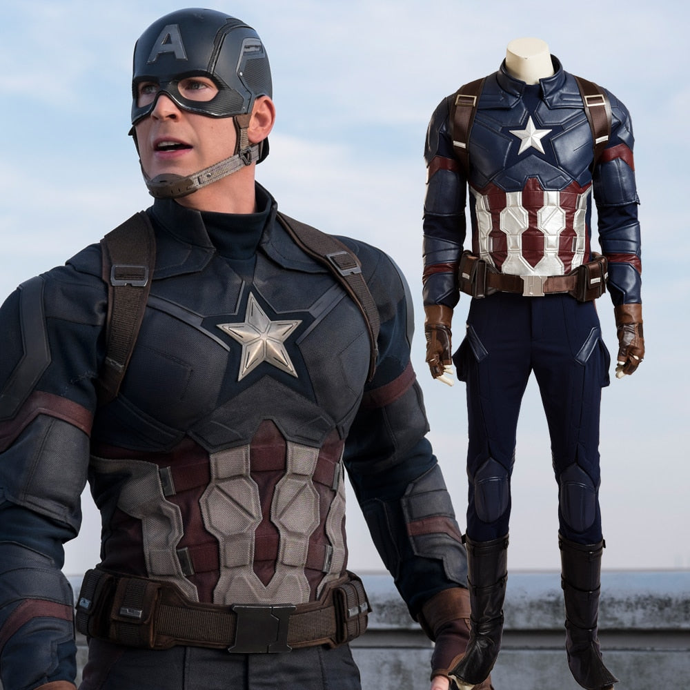 Captain America Civil War Costume - Halloween USA