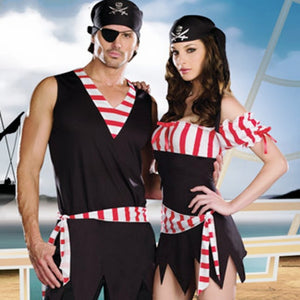 Couples Caribbean Pirate Costumes