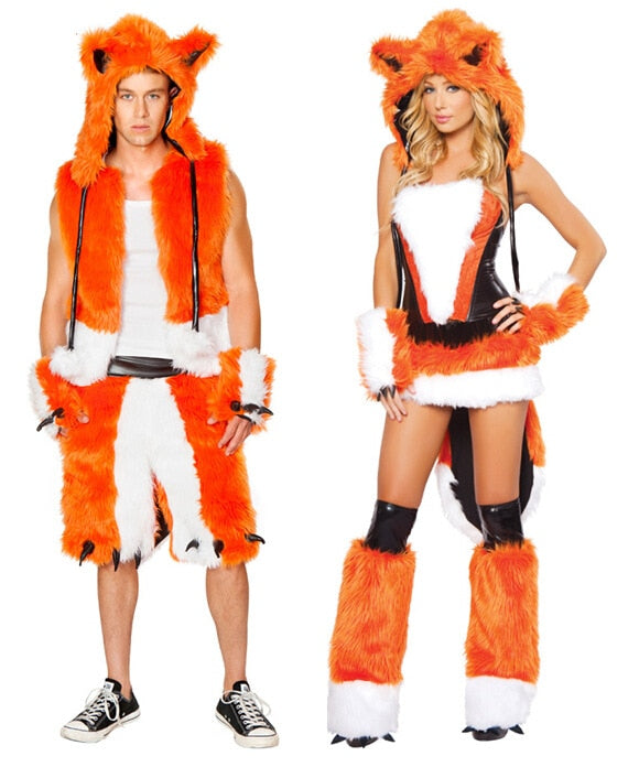 Adult Fox Costume For Men  and Women - Halloween USA