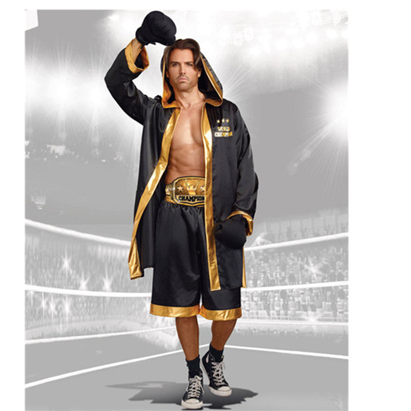 Women  And Men Boxer Costumes - Halloween USA