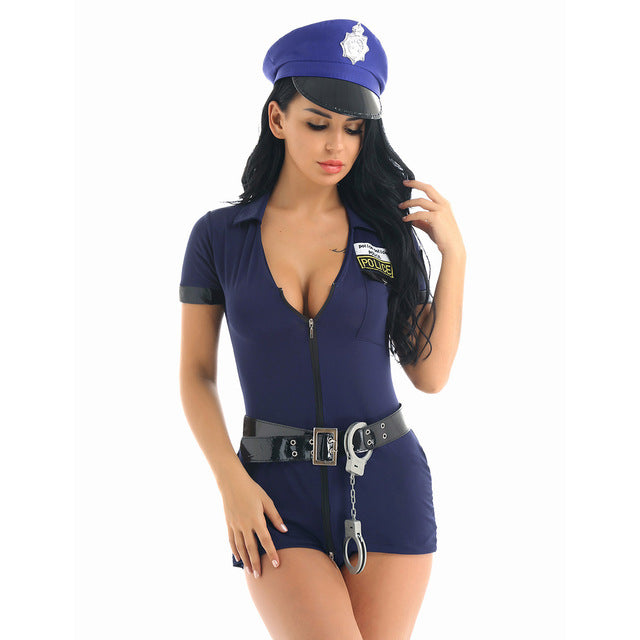 Police Officer Uniform - Halloween USA