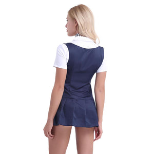 Women Adult Schoolgirl Costume - Halloween USA
