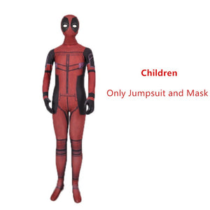 Mens and Boys Deadpool costume - Halloween USA