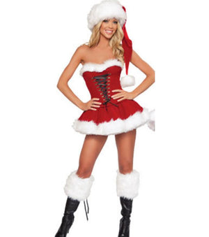 Sexy Santa costumes - Halloween USA