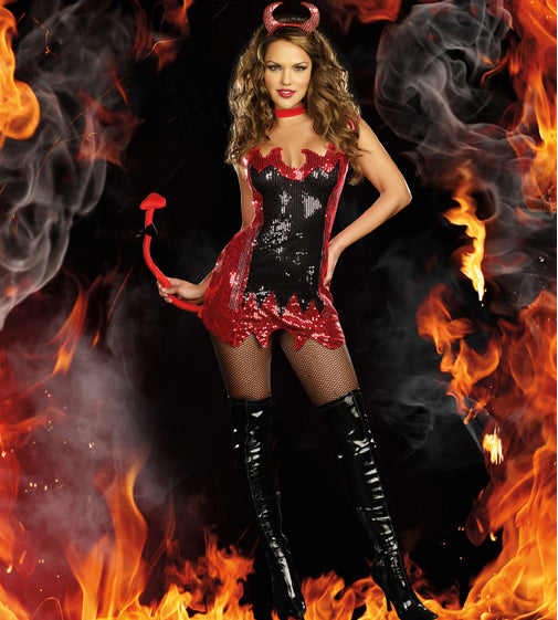 Sexy Halloween Devil Costume