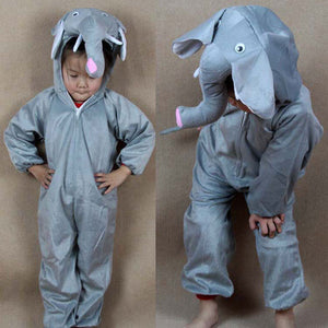 Kids Elephant Costumes Jumpsuit Elephant - Halloween USA