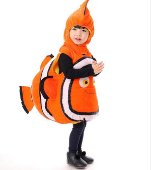 Kids Clown fish Finding Nemo Costume - Halloween USA