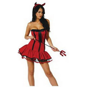 Sexy Women Devil Costume - Halloween USA