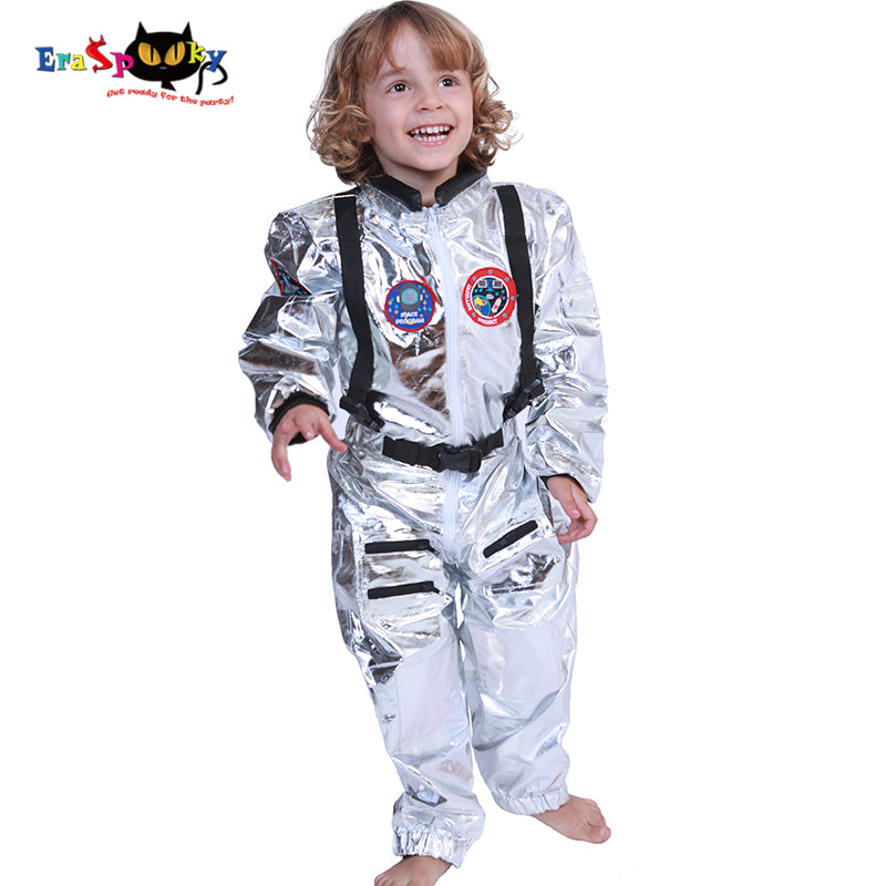 Boys Spaceman One-piece Jumpsuit - Halloween USA