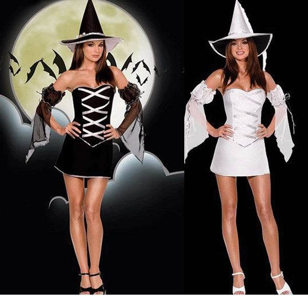 Halloween Party Witch Costume Women Sexy Cosplay Costumes