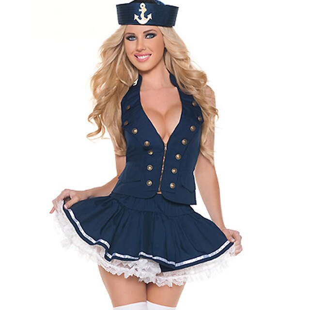 217 Sexy Naval Sailor Costume