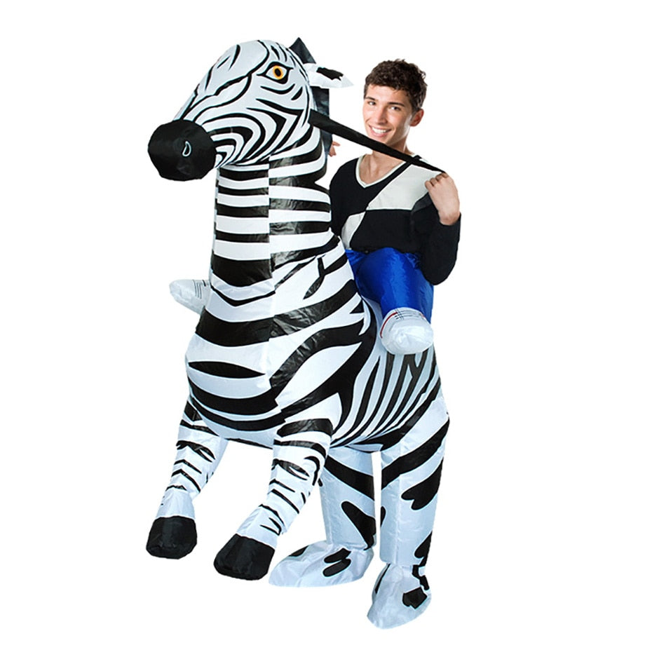 Giraffe inflatable costume - Halloween USA