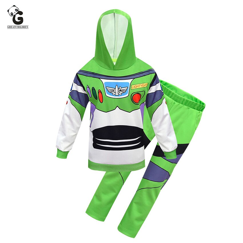 Kids  Toy Story Buzz Lightyear Costume - Halloween USA