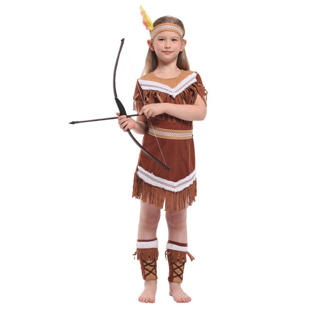 Indian Princess / Pocahontas Costume Kids and Women sizes - Halloween USA