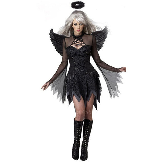 Devil Angel Costume