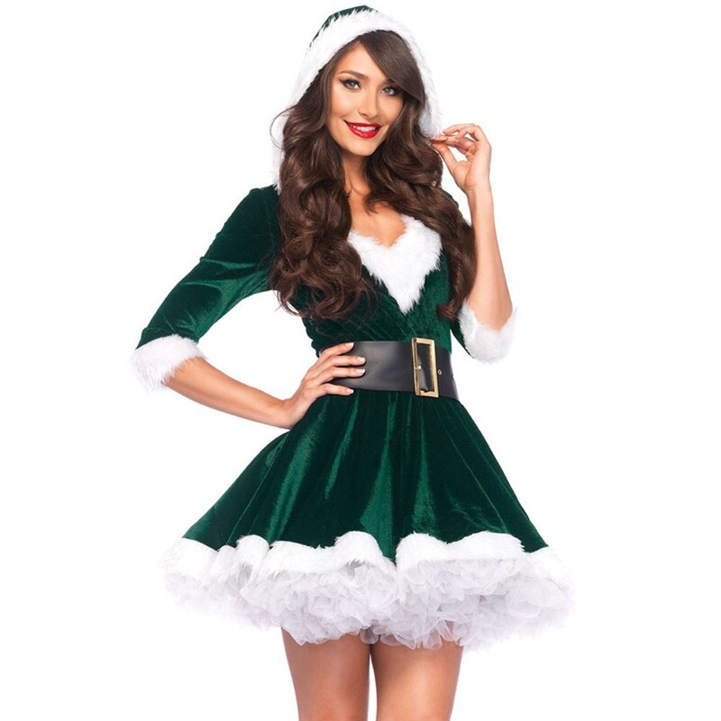 Sexy  Christmas Costume - Halloween USA