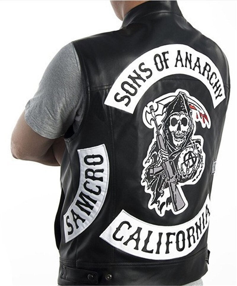 Motorcycle Vest Sons of Anarchy   Costume