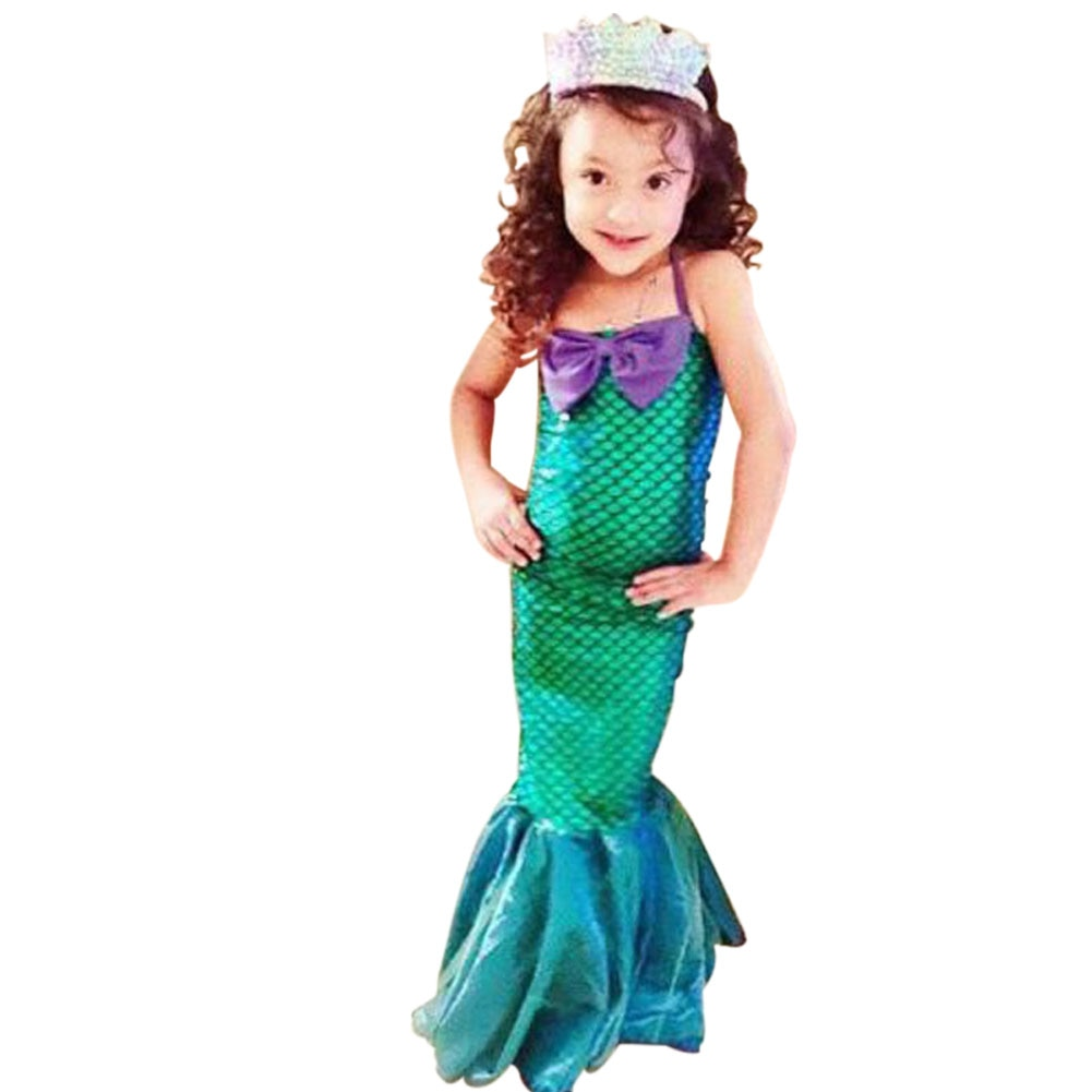 Kids Ariel Little Mermaid Dress - Halloween USA