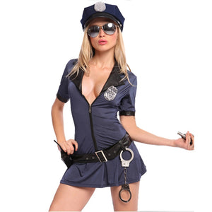 Hottie Police Costume - Halloween USA