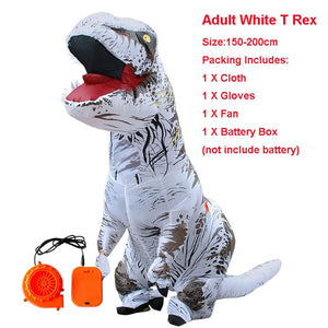 Inflatable Dinosaur T REX Costume - Halloween USA
