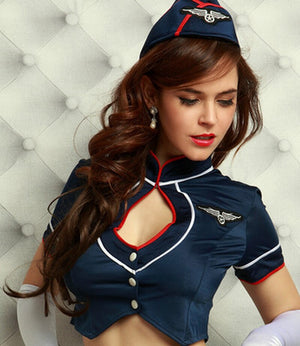 Sexy Stewardess Uniform - Halloween USA
