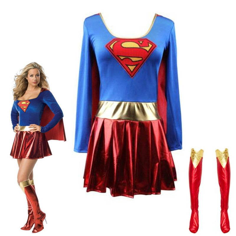 Superwoman Costumes - Halloween USA