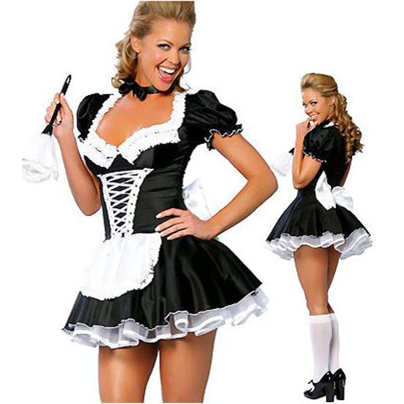 French Maid Costume - Halloween USA