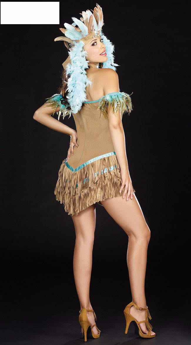Indian Tribes Princess Costume - Halloween USA
