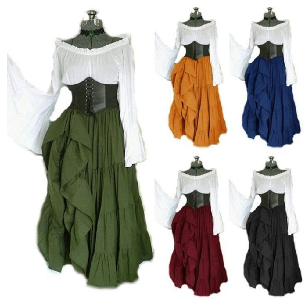 Medieval Dress Cosplay Halloween Costumes - Halloween USA