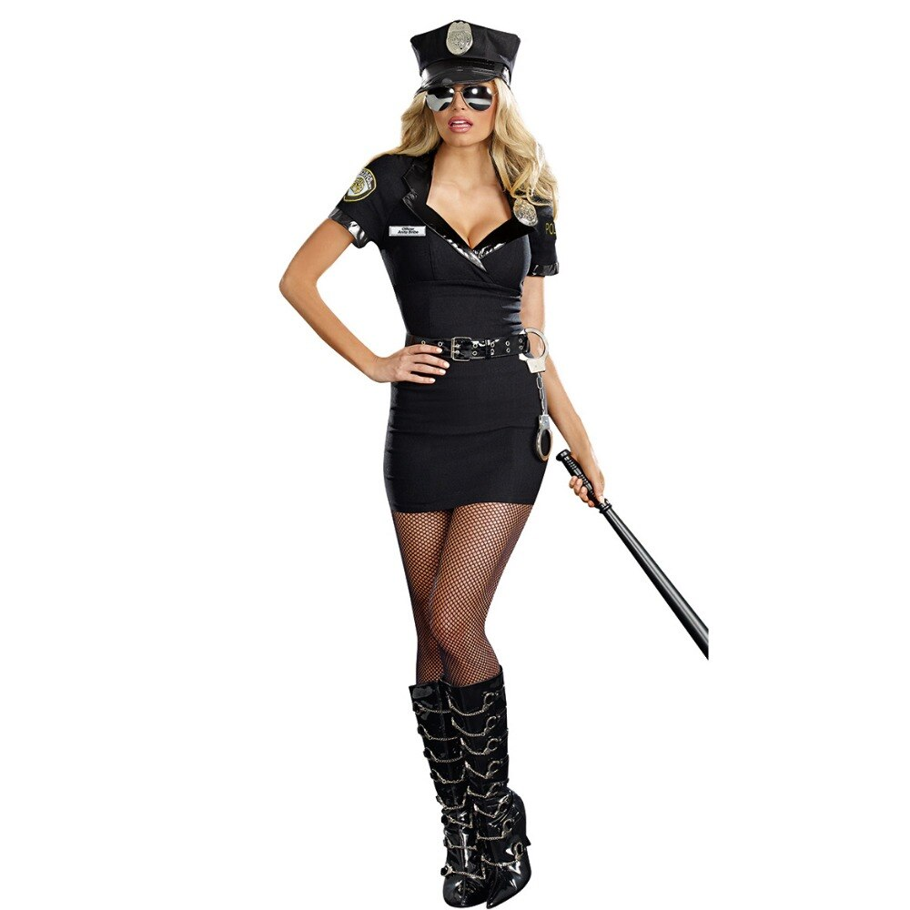 Sexy Cosplay  Police Costume Sexy - Halloween USA